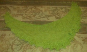Annis Scarf - Before Blocking